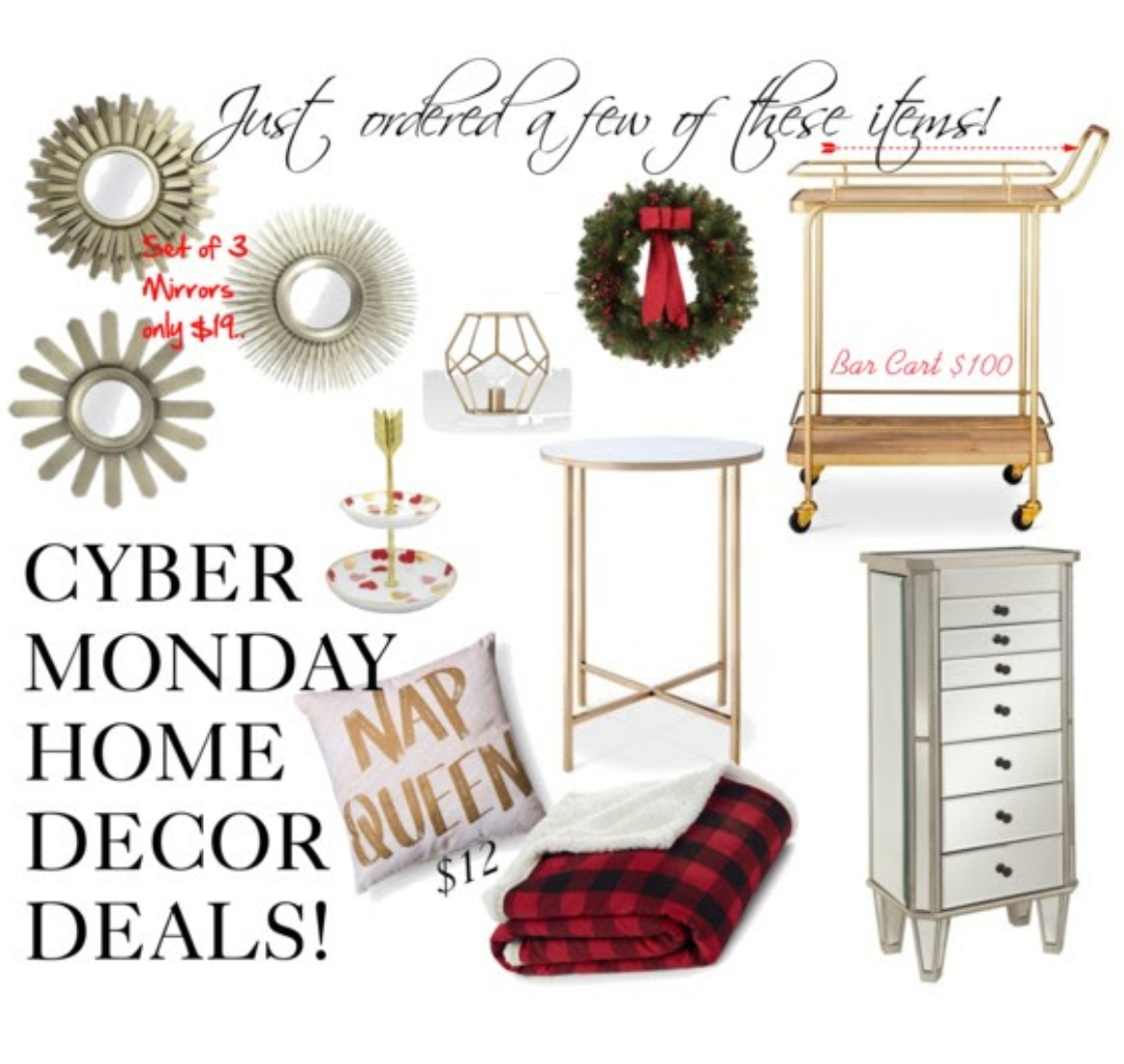 Cyber monday home decor deals too sweet to miss for Home decor offers