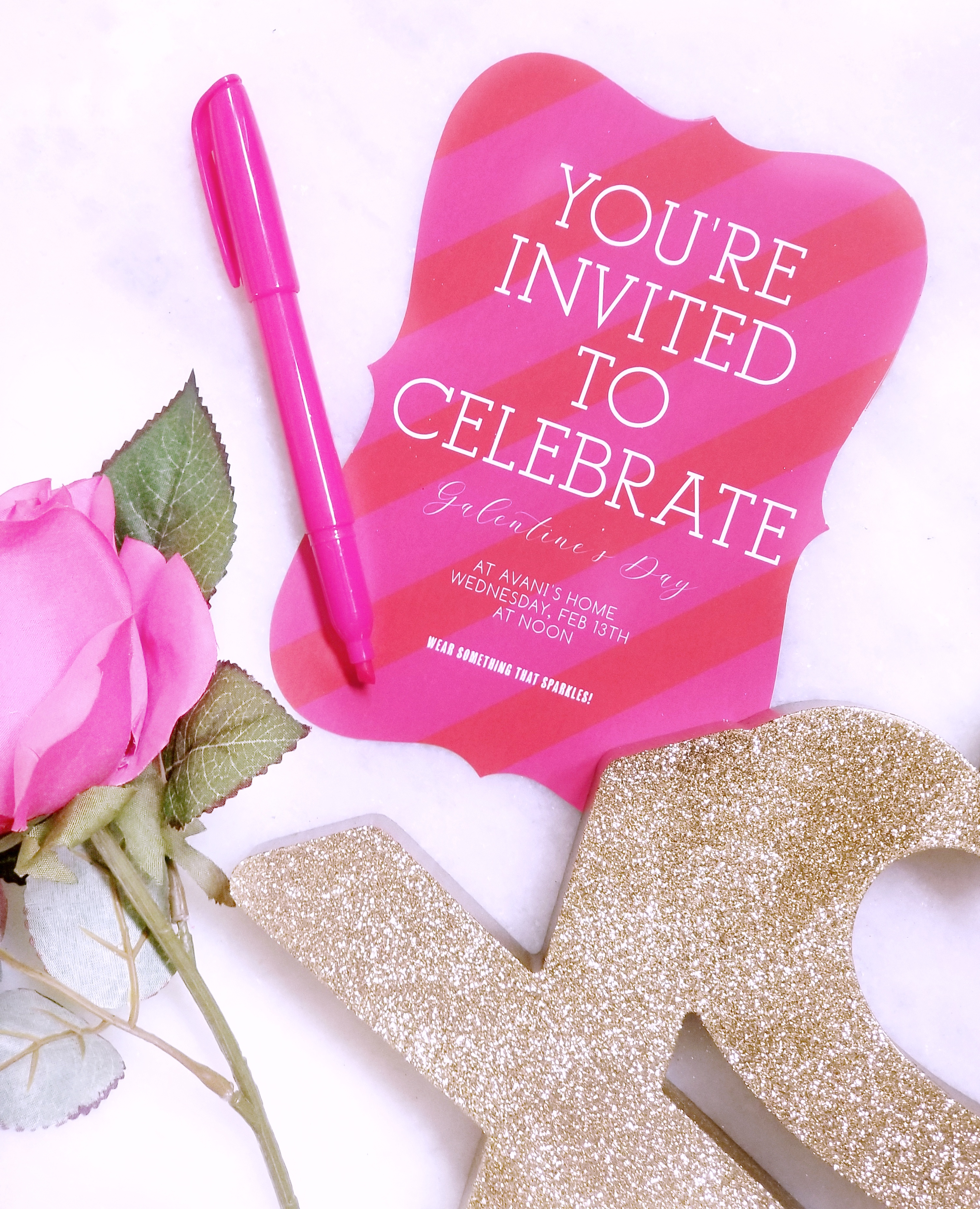 Galentine S Day Party Ideas Elegant Save The Dates Templates Fashion Beauty Decor