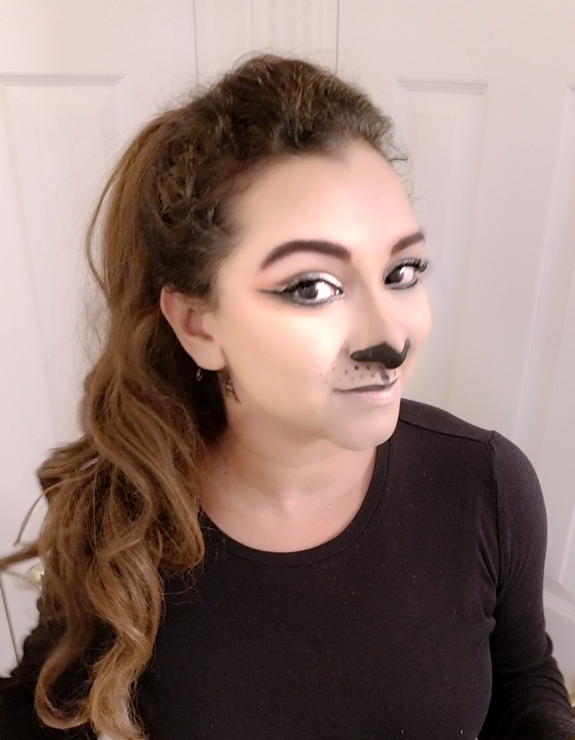 Glamorous Lion Lioness Halloween Makeup Look Fashion Beauty Decor